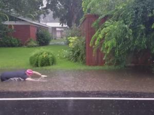 Severe Rainfall In Jackson