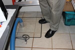 water-damage Canton floor tile restoration