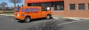 Mold and Water Damage Repair Truck
