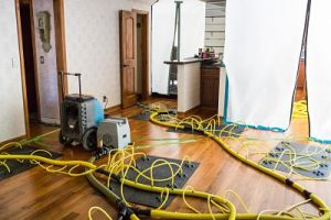 Advanced Drying Services In A Residential Property